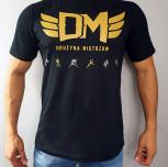 "T-shirt DM ""TCM"" gold black"