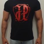 """T-shirt JP """"HERB"""" czarny"""