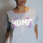 T-shirt/Tunika DM szara