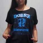 """T-shirt/Tunika JP """"Dobre Dziewczyny""""czarna"""