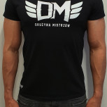 "T-shirt ""Zdrowy Duch"" czarny"